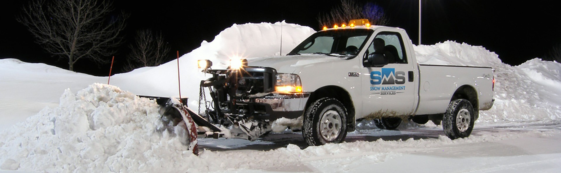 SMS Truck Snow Plowing